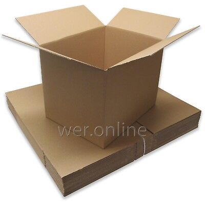 5 x Large Home Moving Removal Storage Packaging Cardboard Boxes 24x18x18