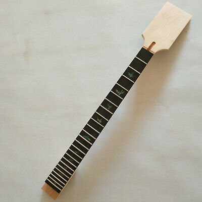 DIY Unfinished Guitar Neck 24 Fret for PRS style paddle head ebony fingerboard