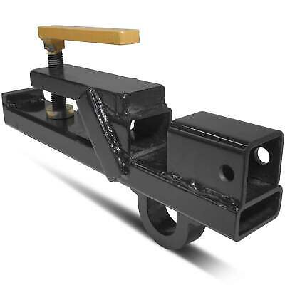 Clamp On Tractor Bucket Hitch Receiver Skid Steer Bobcat Lift Ring Bh-wh
