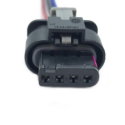 VW / AUDI / SKODA / SEAT / BMW CONNECTOR WIRING HARNESS LOOM 4 PIN CONNECTOR