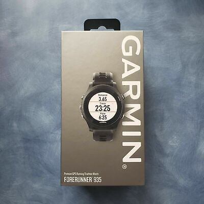 Garmin Forerunner 935 GPS Heart Rate Monitor, SmartWatch, Black - (010-01746-00)