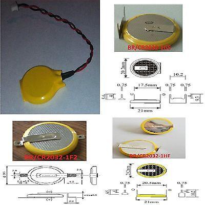 CMOS Batterie/Battery CR2032 3V m. Stecker Molex -1GS,CR2032-1F2,CR2032-1HF BIOS 2 Cr2032 Batterien