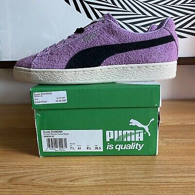 Diamond Supply Co X Puma Suede - Orchid/ Black - DS BNIB