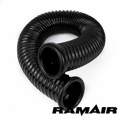 Ramair Cold Air Feed Ducting 76mm ID x 750mm - 2 End Cap