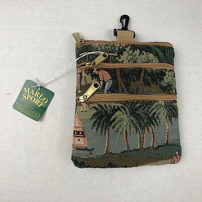 9a6df9e26ac9 Marlo Sport Golf Accessories Bag Multicolor One Size USA 3 Zipper Pockets