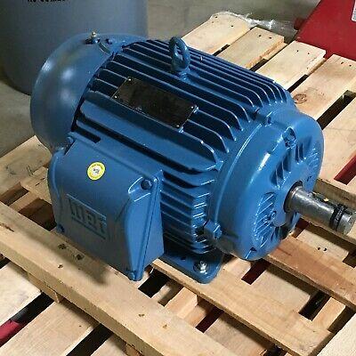 Weg 15 Hp General Purpose Motor 3-phase Rpm 1765 230460v Ac 01518et3e254t-w22