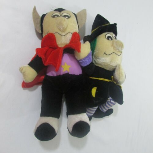 "Goffa Dracula Witch Hazel 9"" Plush Halloween"