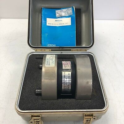 Calibration Torque Cell Transducer 2351 102 Lebow 36k In Lbs W Case Rare