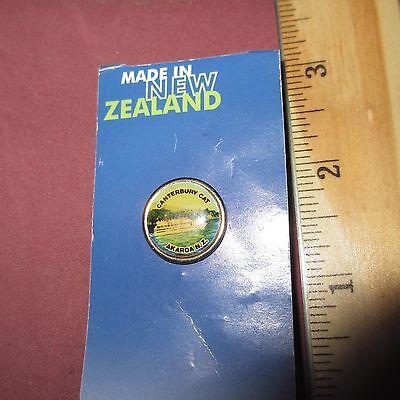 Canterbury Cat Akaroa New Zealand Hat Pin Collectible Tie Tac Hansen & Berry