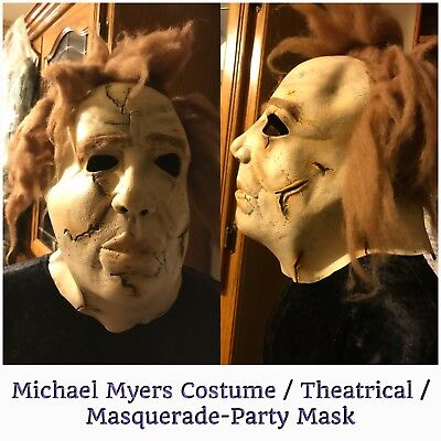 Michael Myers Mask for Theatre / Masqerade / Halloween, Hallmarked](Michael Myers Mask For Halloween)