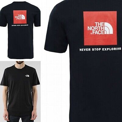 The North Face Mens T Shirt Top Black RRP £24.99 XS S M L XL XXL