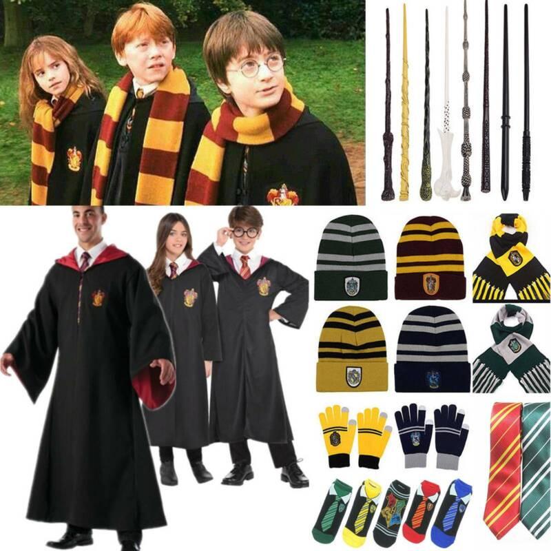 Harry Potter Schal Kostüm Umhang Gryffindor Hufflepuff Slytherin Ravenclaw Gifts