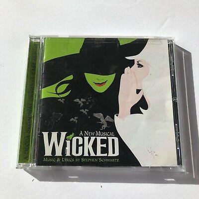 Idina Menzel   Wicked  Original Broadway Cast Recording    Idina Menzel Cd W2vg