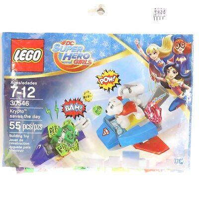Lego DC Super Hero Girls Krypto Saves The Day 30546 Polybag - Friends - Superheroes Girls