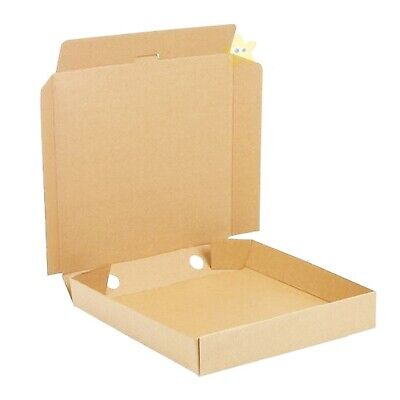 25 x 7 inch BROWN High Quality Strong Takeaway Fast Food Postal Pizza Boxes