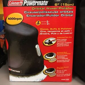 Orbital waxer polisher  Coleman Powermate New