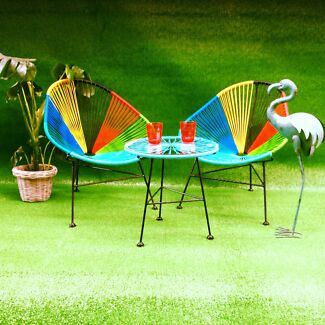 New Retro Replica Outdoor Mexican Acapulco Relax Chairs Chair Richmond Yarra Area Preview