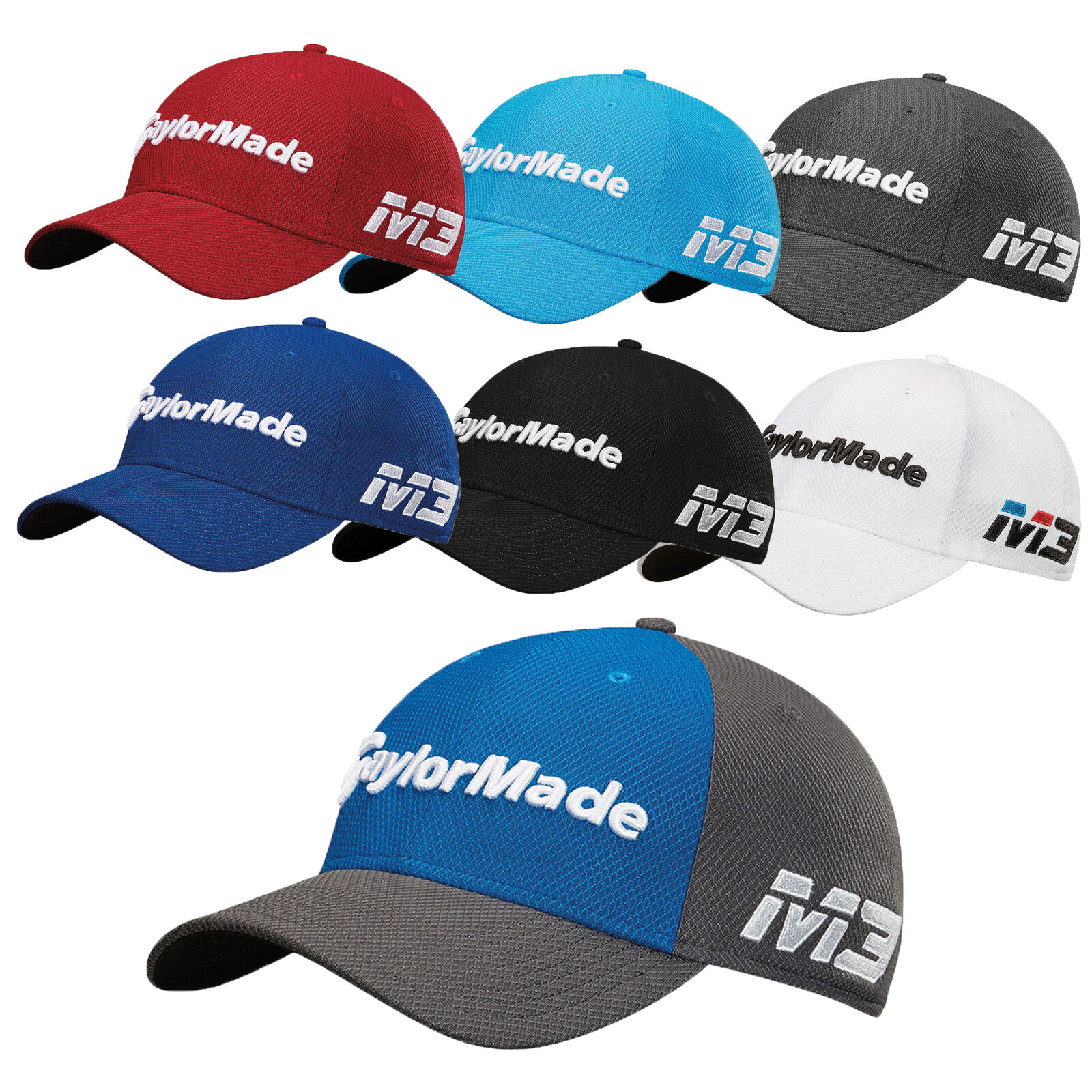 849ab60c40a TaylorMade Golf 2018 New Era Tour 39Thirty Fitted Hat Cap - Pick Size    Color! 아이템 넘버  273117857628.
