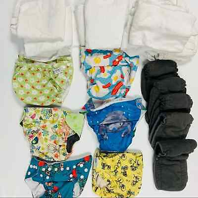 Lot Of Diaper Covers And Inserts - $65.00
