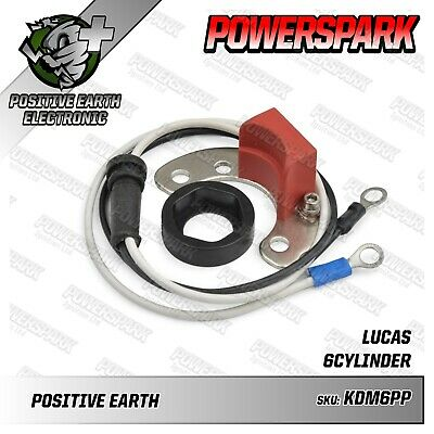 Electronic Ignition Kit for Lucas DM6, DMB6 & DMBZ6A Distributor Positive Earth