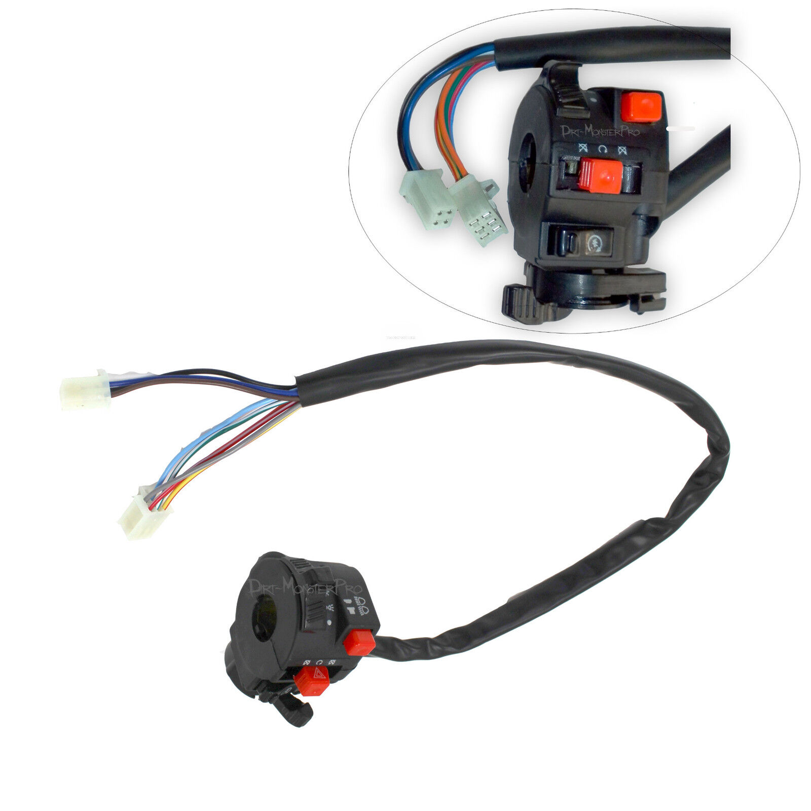Complete Wiring Harness Loom Cdi Coil Regulator Water Cool Atv Quad Wire Buggy Engine
