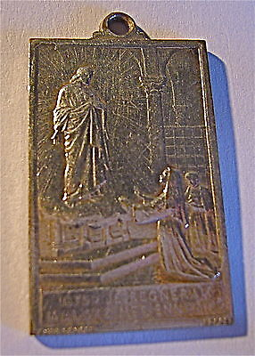 Medal Religious - Ancient Signed Penin / Poncet