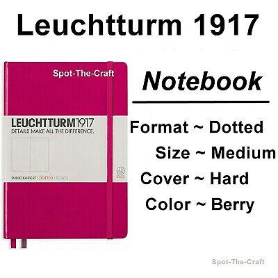 Leuchtturm1917 Dotted Journal Notebook Medium A5 Berry Pink 344809