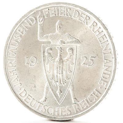 5 Reichsmark Weimarer Republik 1925 Weimar Republic Silber Münze Silver Coin A
