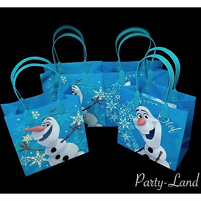 24 PCS Disney Frozen Olaf Party GOODIE BAGS PARTY FAVOR BAGS GIFT Bags (Olaf Party Bags)