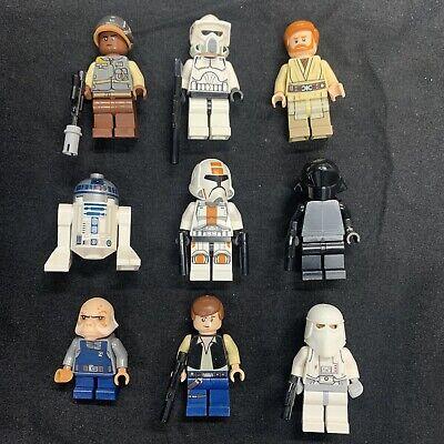Lego Star Wars Minifigures X9 Lot W