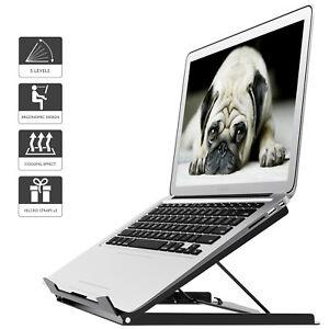 Adjustable Laptop Tablet Stand Notebook Riser Holder Ergonomic Portable MacBook