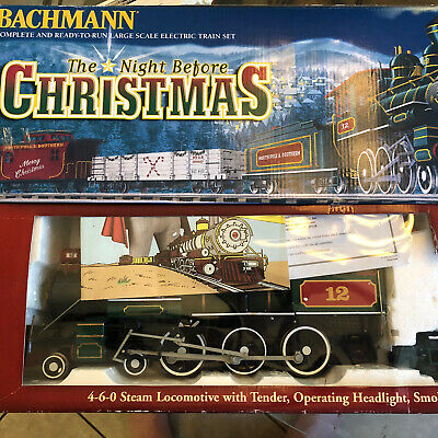 Bachmann The Night Before Christmas Authentic Large Scale Electric Train Set