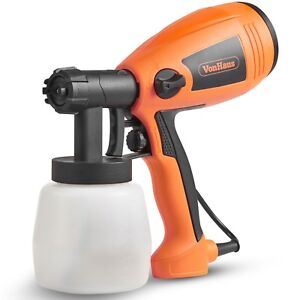 VonHaus Electric Paint Sprayer / Spray Gun For Painting Fences, Decking, Walls