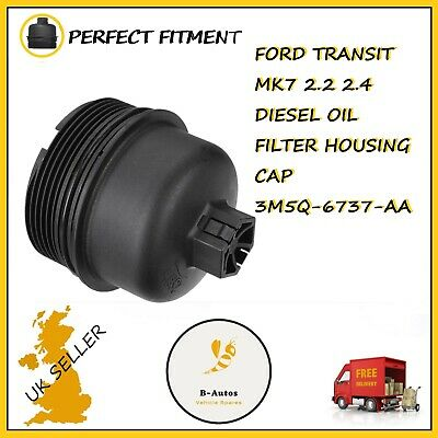 Viviance Oil Filter Lid Housing Top Cover Cap For Ford Transit MK7 Galaxy Mondeo Focus
