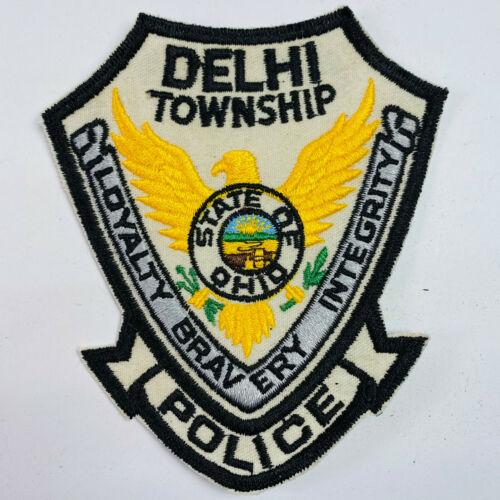 Delhi Township Police Hamilton County Ohio OH Patch (B7)
