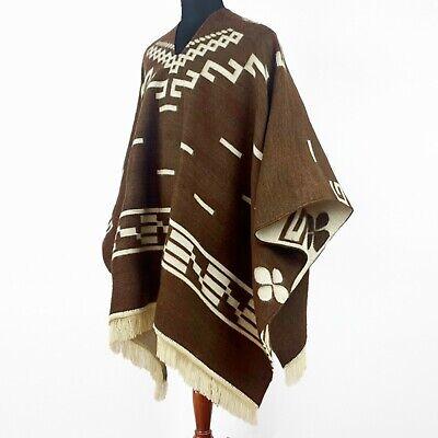 Clint Eastwood Western Cowboy Poncho Serape replica handmade of Alpaca wool