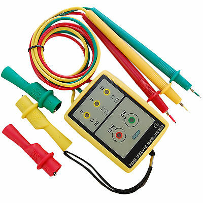 3 Phase Sequence Rotation Tester With Led And Buzzer Indicator Detector Checker