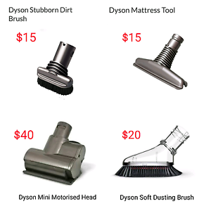 Brand New Genuine Dyson Mini Motorised Head / Brushes / Tools Hurstville Hurstville Area Preview