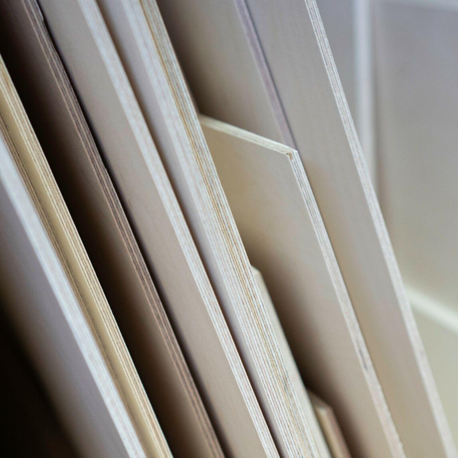 20x20 cm Siebdruckplatte 18mm Zuschnitt Multiplex Birke Holz Bodenplatte