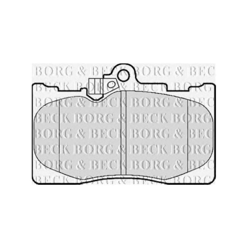 Lexus GS 450h Genuine Borg & Beck Front Brake Pads Set