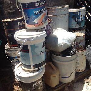 Paints left from renovation Dundas Parramatta Area Preview
