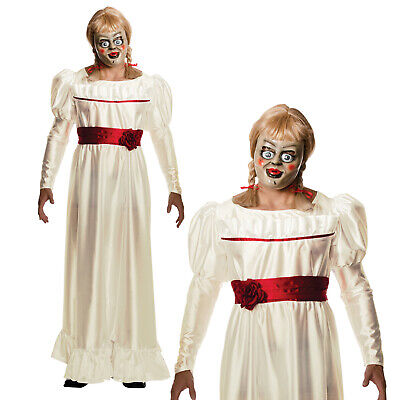 Rubies Herren The Zaubern Annabelle Halloween Horror Puppe - Annabelle Kostüme