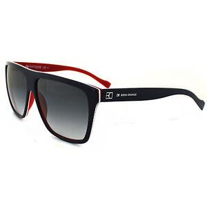 Hugo Boss Sunglasses 0082 YW0 JJ Blue Red White Grey Gradient