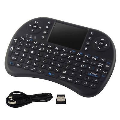 Mini Wireless Tastatur Maus Touchpad für Android Smart TV BOX PC 2,4 GHz (Smart Tv Wireless Tastatur)