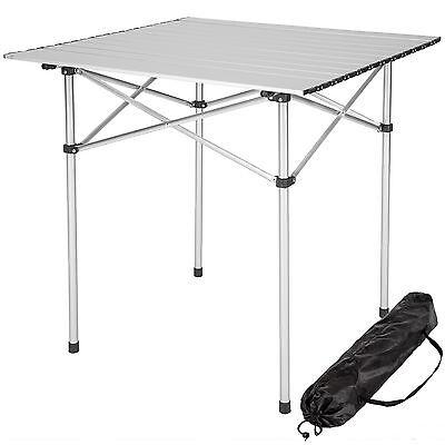 Aluminium Campingtisch Rolltisch Klapptisch Falttisch Gartentisch klappbar  - Klapptische