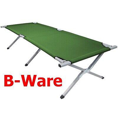 Feldbett Stahl XXL 200 / 210 x 70 x 52 cm von BB Sport * B-WARE