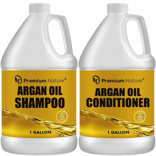 Argan Oil Shampoo and Conditioner Sulfate Free All Natural 1