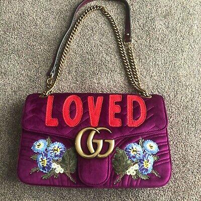 Gucci Marmont velvet bag New
