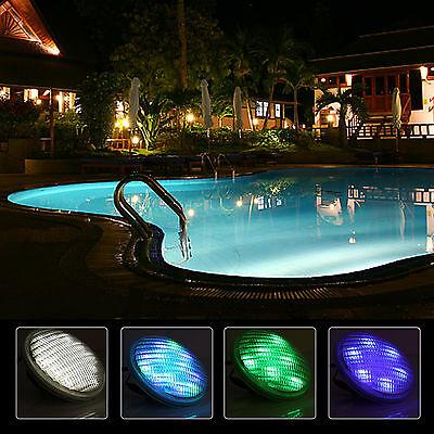 Wasserdicht 54w Led Schwimmbad Lampe IP68  Mehrfarbig mit Fernbedienung Licht