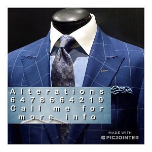 Pants , Suits, Jackets Alterations